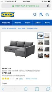 IKEA pullout couch
