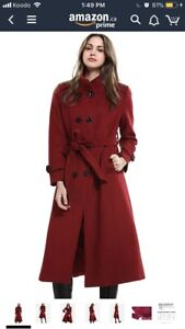 Brand new with Tag Red Trench Coat