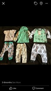 3-6 month outfits ALL NEW