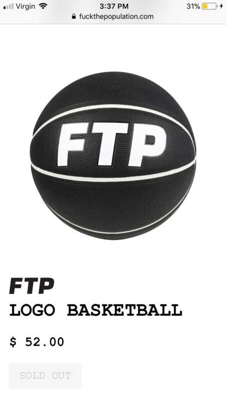FTP brand new f*ck the population basketball black