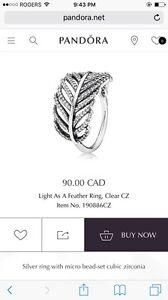 Pandora Ring - Light As A Feather