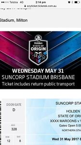 State of Origin tickets Balmoral Brisbane South East Preview