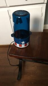 Captain America pop corn maker