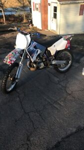 2001 Yamaha yz250 for sale or trade !