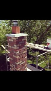 Chimney Repair, Brick, Repair, Stone & Block Work