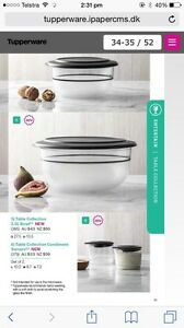 Tupperware table collection 3.5 litre bowl Upper Coomera Gold Coast North Preview