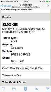 Smokie Tickets Adelaide 14 Nov Coromandel Valley Morphett Vale Area Preview