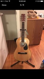 Denver Acoustic Guitar with bag and stand