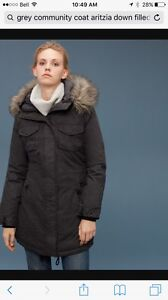 Dark Grey Aritzia Winter Coat  Peterborough Peterborough Area image 1