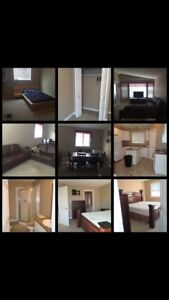 ~*~FULLY FURNISHED 3 BDRM with parking and utilities