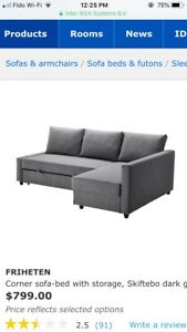 IKEA Couch Price is negotiable