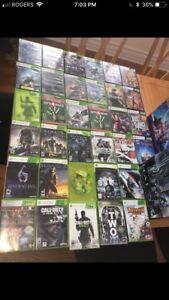 Xbox 360, jeux vidéos, manette