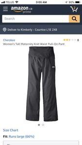 Size Large Maternity Scrub Pants