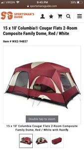 Large tent & camping gear