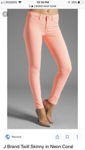 J Brand Coral Jeans Size 29