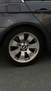 Set of 4 BMW Wheels and Tires