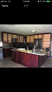 Kitchen with countertops