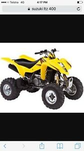 Wanted Suzuki LTZ 400 Quad Cash Paid Southern River Gosnells Area Preview