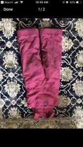 Girls snow pants 4X