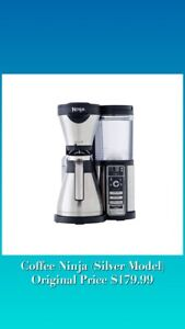 Ninja Silver Coffee Maker