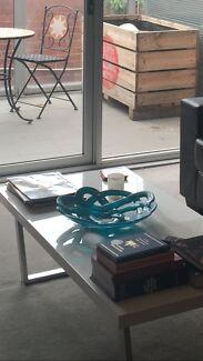 Kosta boda turquoise bowl 37cm Hawthorn Boroondara Area Preview