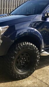 Nitto trail grapplers With Sunraysia rims Durack Brisbane South West Preview