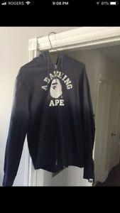 Authentic Bathing Ape Bape Hoodie - Size XL