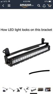 Led bar and mount.