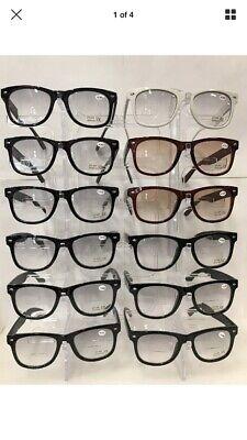 bifocal reading glasses plastic frame wholesale 12 pair #wy63