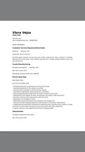 Looking for a part time job