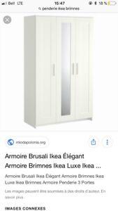 Je recherche une armoire-penderie comme sur la photo!