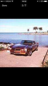 REDUCED 1979 Camaro