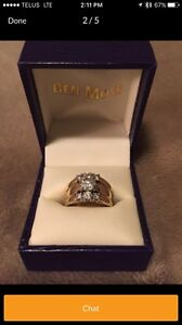 2 Karat Ben Moss Wedding Set