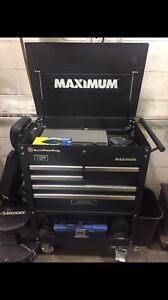 MINT CONDITION MASTER CRAFT MAXIMUM CART AND TOOLS FOR SALE!