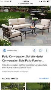 Looking for a conversation set