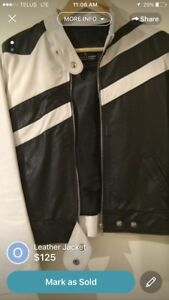Original Argentinian New Leather Jacket Small