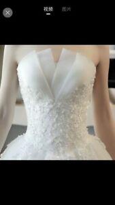 Romantic illusions Wedding dresses 8 pcs