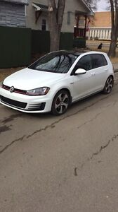 2015 Volkswagen GTI autobahn. With some extras.