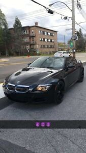 BMW M6 Convertible V10 ! 510 hp!