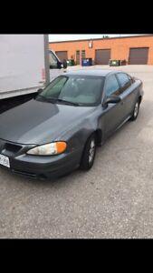 2003 grand am 3.4L 215xxxkm  SE1 Pontiac needs transmission