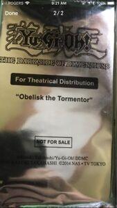 yugioh dark side of dimensions obelisk single card packs