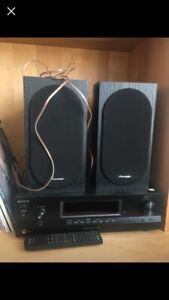 MUST SELL THIS WEEK: Sony Stereo Receiver & Pioneer Speakers