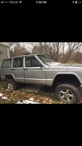 JEEP CHEROKEE SPORT PARTS OR PROJECT TRUC