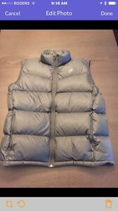 Men's Nike Goose Down Filled Puffy Vest XL black unwashed unworn