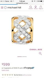 10ct 1/4 Carat Diamond Charms BNIB RRP$1200 Middle Dural The Hills District Preview