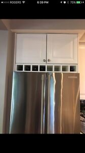 New never installed Wine Rack - show with my IKEA cabinets