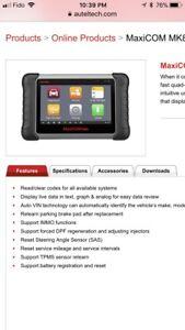 Obd tablet scan tool