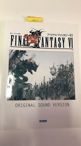 Final Fantasy VI Music Book
