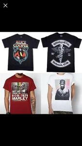 Band shirts metal music grunge alternative rap hip hop