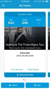 Drake and the Migos (1 Floor Ticket) - Wednesday